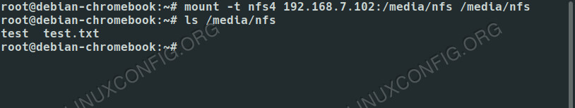 How to Set Up a NFS Server on Debian 10 Buster - LinuxConfig org