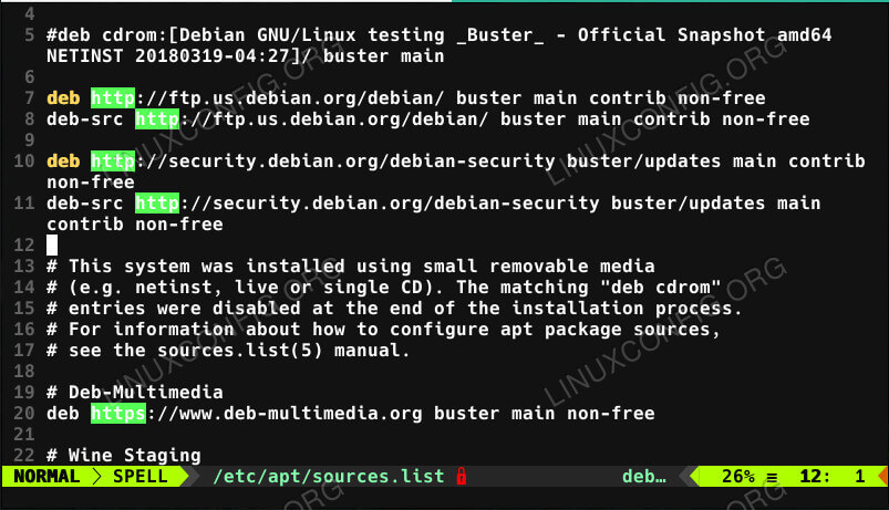 Debian Repositories With Non-Free