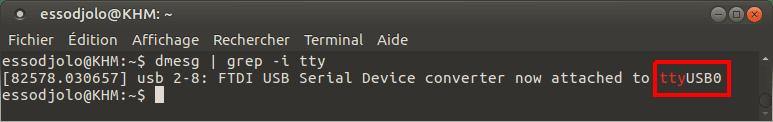 determining device port