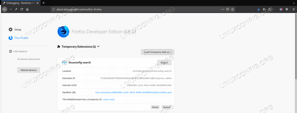 How to create, package and sign a Firefox web extension