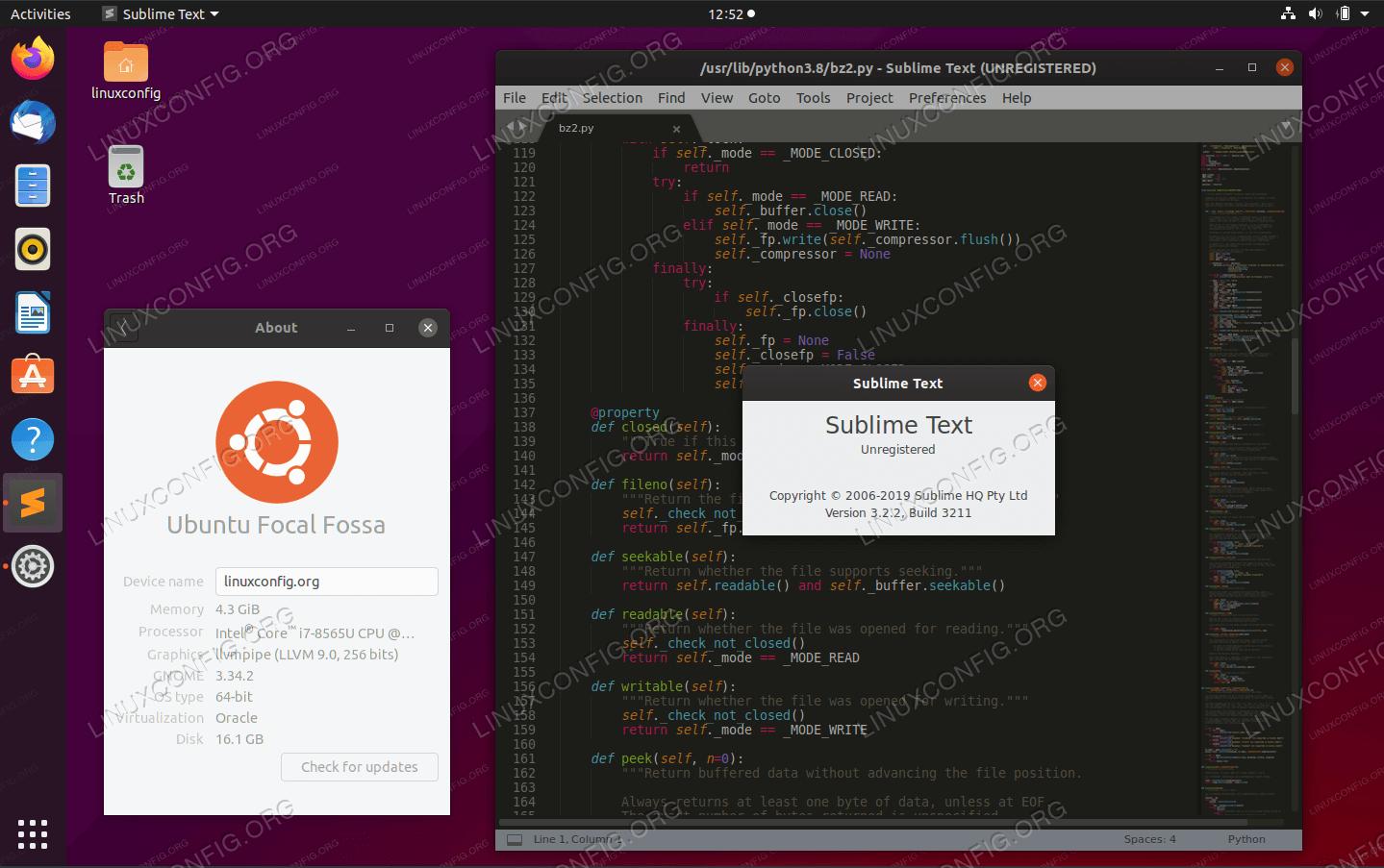 Sublime Text Editor on Ubuntu 20.04