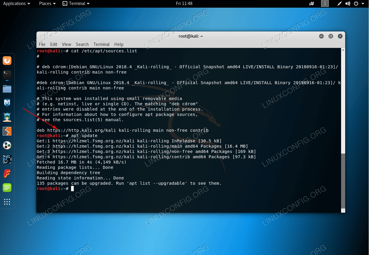 Kali Linux - Failed to fetch InRelease - Repository Fix