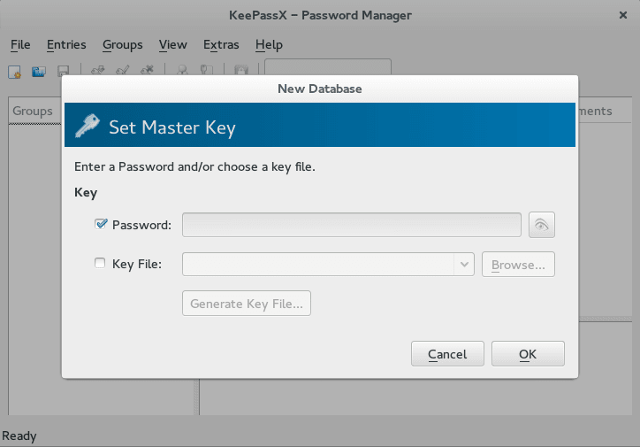 keepassX linux installation
