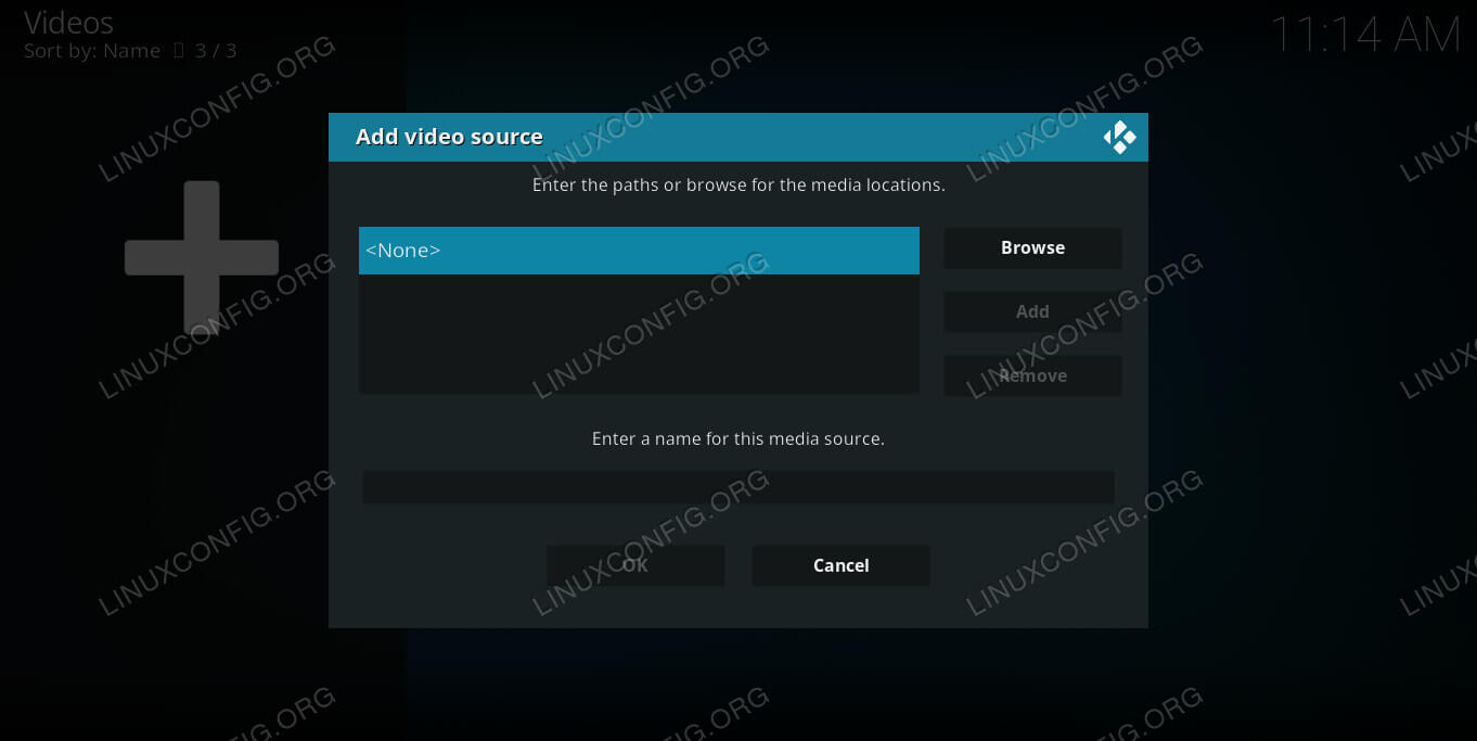 Add Kodi File Source