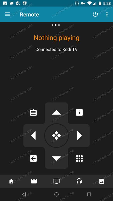 Kodi Remote Connected