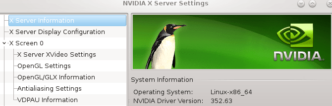 Check nvidia version on linux system