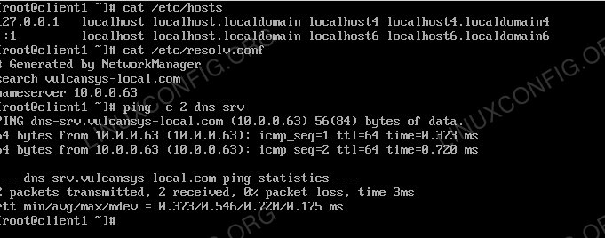How to install DNS server on RHEL 8 / CentOS 8 Linux