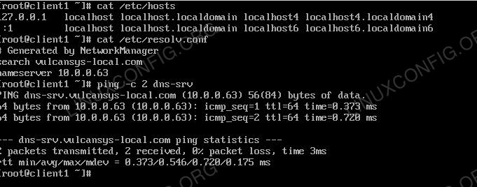How to install DNS server on RHEL 8 / CentOS 8 Linux - LinuxConfig org
