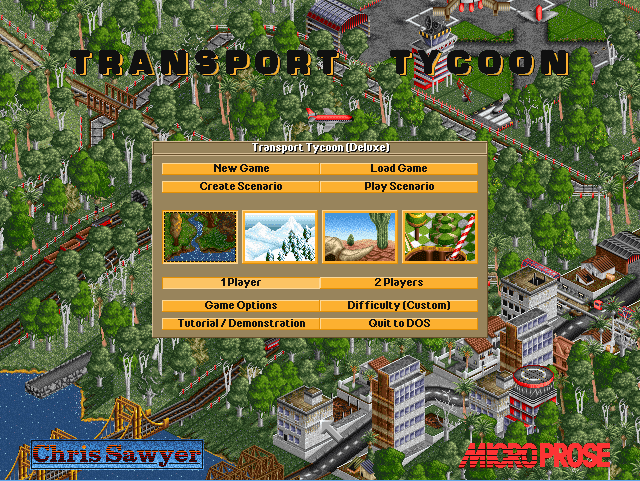 Transport Tycoon DeLuxe for DOS download