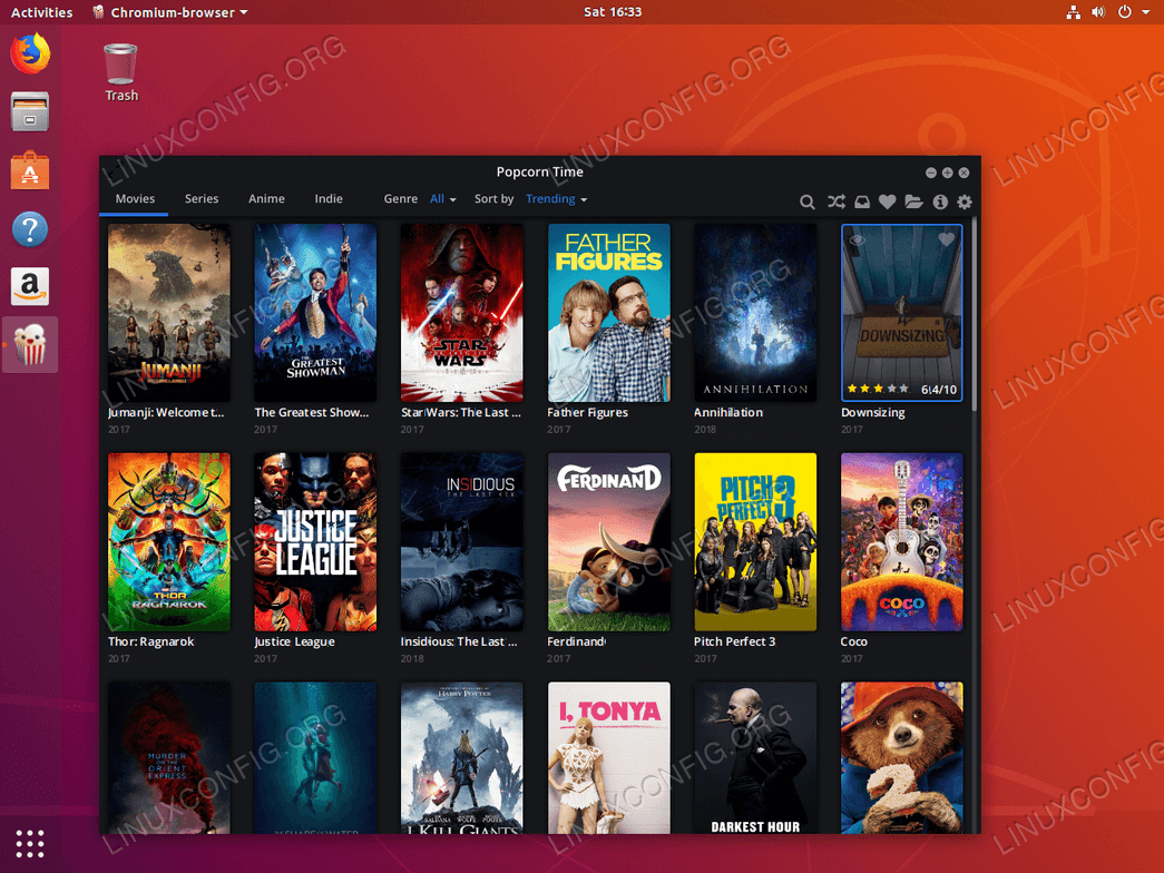 How to install Popcorn Time movie player on Ubuntu 18 04 Bionic