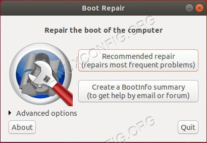 Ubuntu Boot-Repair
