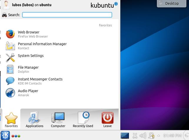 How to install GUI desktop environment on Ubuntu Linux 14 04