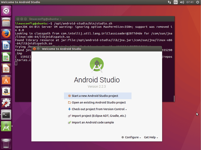 How to install Android Studio on Ubuntu 16 04 Xenial Xerus