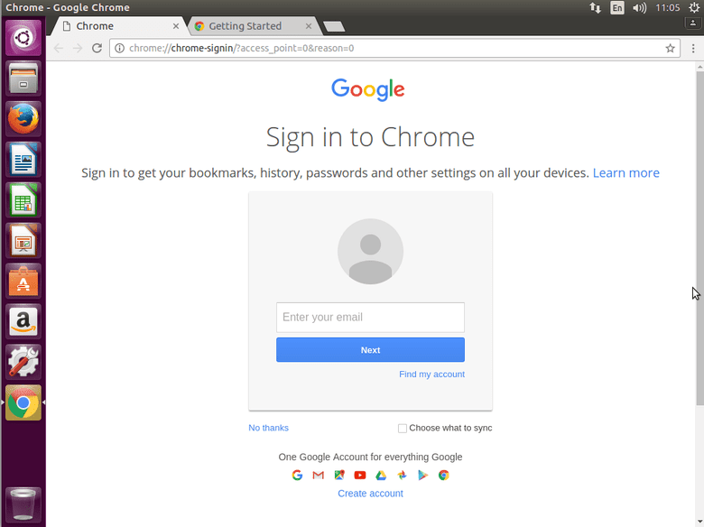 install chrome ubuntu headless