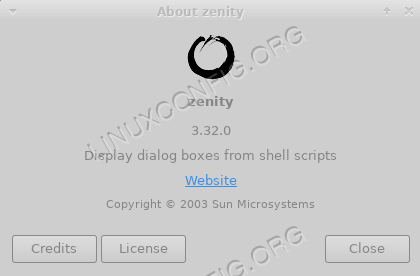 How to use graphical widgets in bash scripts with zenity