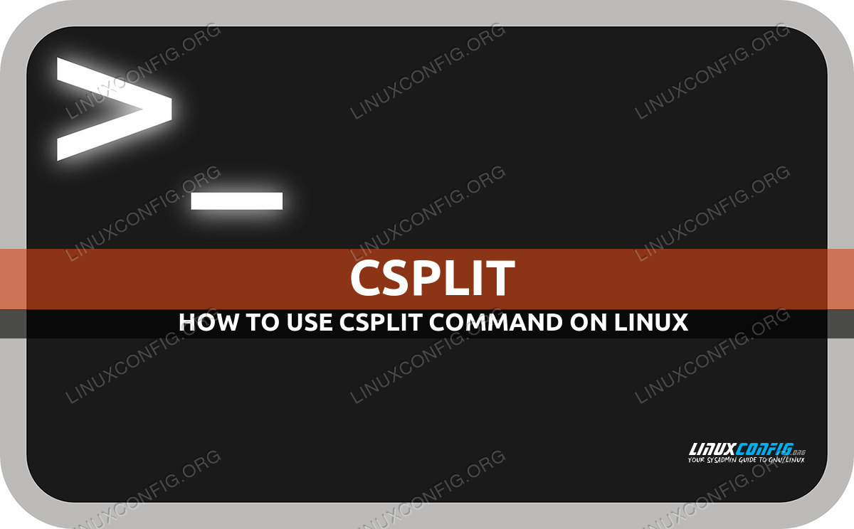 csplit command in Linux with examples