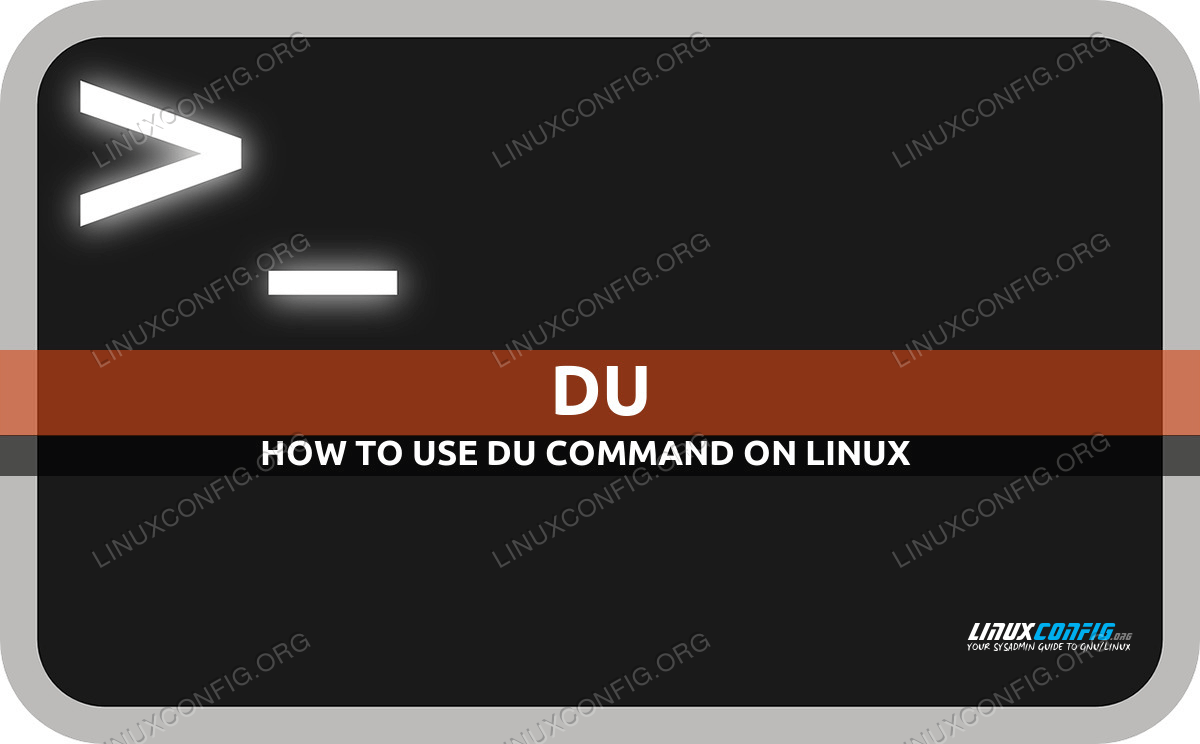 du command in Linux with examples