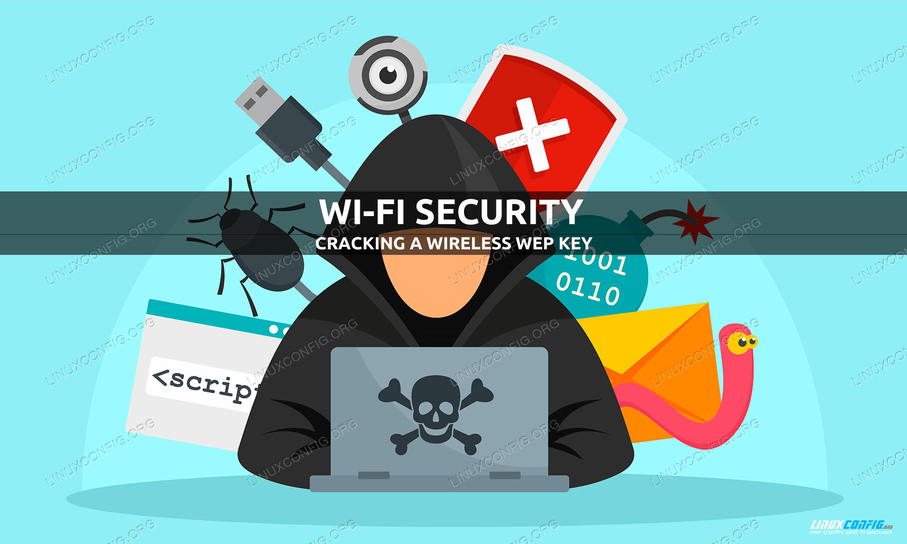 How to crack a wireless WEP key using aircrack-ng