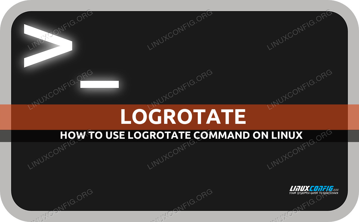 logrotate command in Linux with examples