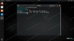 How to configure, mount, and access encrypted partition on Linux