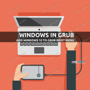 Adding Windows 10 to GRUB boot menu