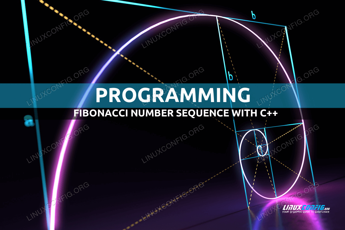 Fibonacci number sequence with C++