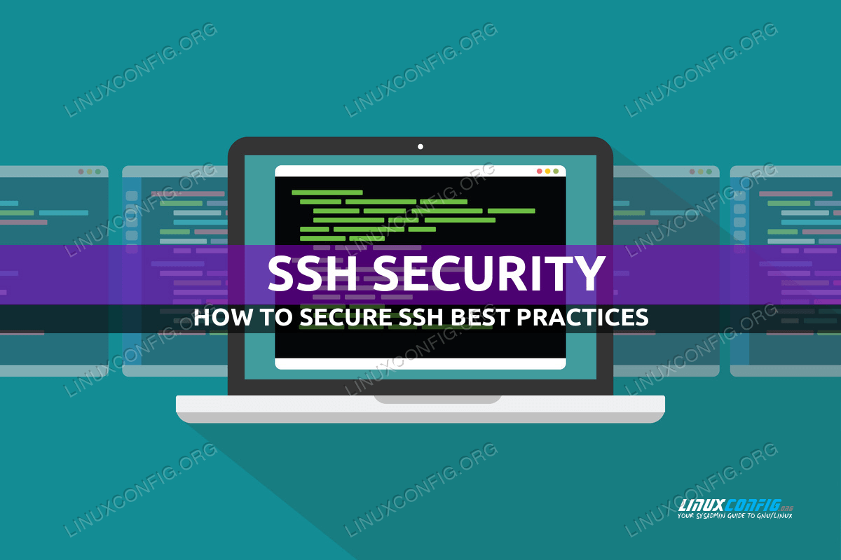 How to secure SSH best practices