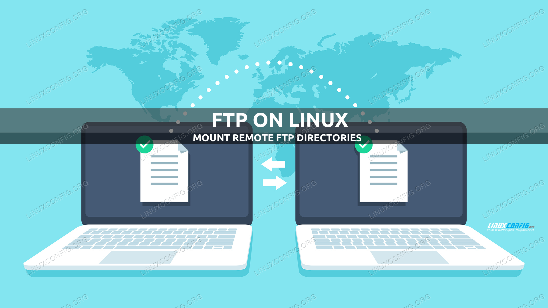 Using CurlFtpFS to mount remote FTP directories on Linux