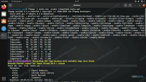 Converting between audio formats using the ffmpeg command on Linux