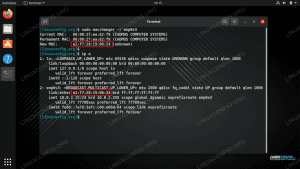 Changing the MAC address with the macchanger command on Linux