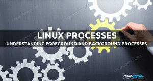 Understanding foreground and background processes in Linux