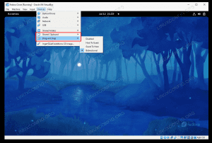VirtualBox Guest Additions installation of Fedora Linux