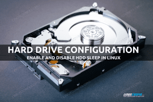 How to enable and disable HDD sleep on Linux