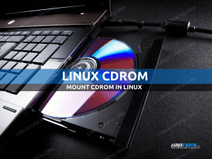 How to mount cdrom in Linux