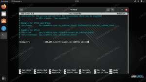 Configuring an NFS server share on Linux