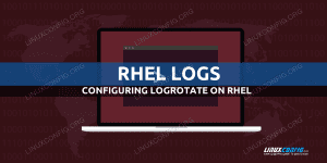 Configure logrotate on Red Hat Linux
