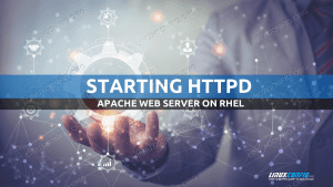 How to start httpd service in RHELLinux