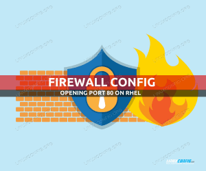 How to open http port 80 in Redhat Linux using firewall-cmd