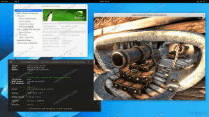 Installing NVIDIA GeForce video driver on Fedora Linux