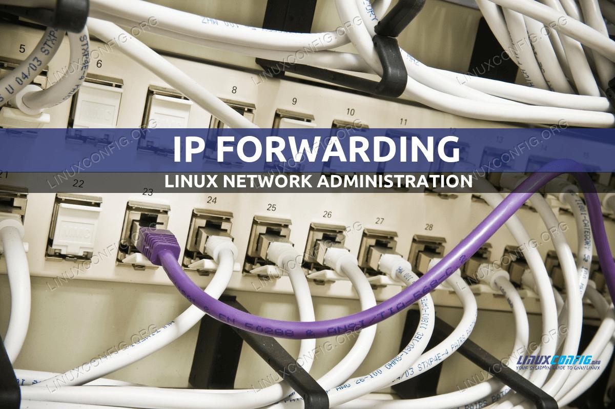 Linux IP forwarding