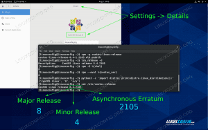 Identifying the CentOS Release version