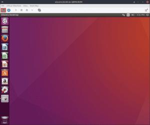 Ubuntu 16.04 running in a virtual machine