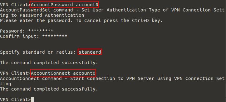 client account connect