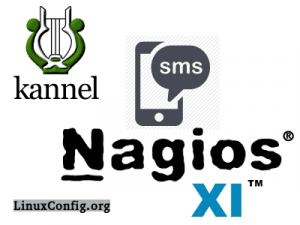 using kannel for nagios sms alerts