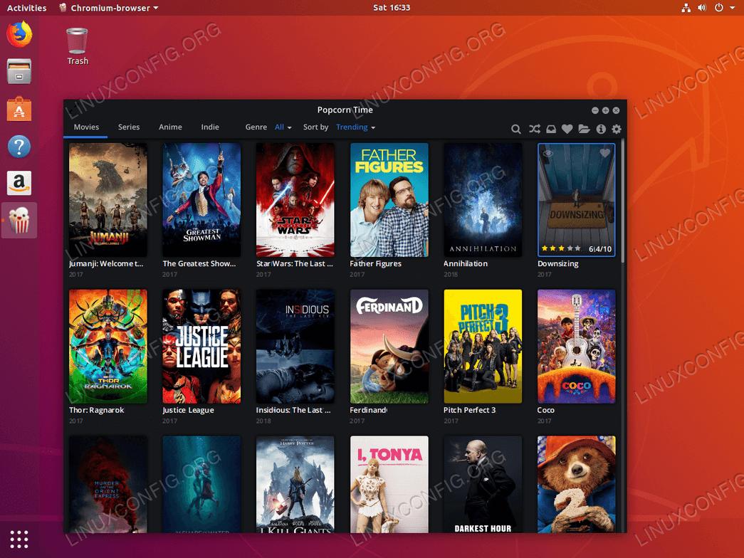 ubuntu 18.04 linux popcorn time