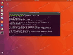 Install ssh on Ubuntu 18.04