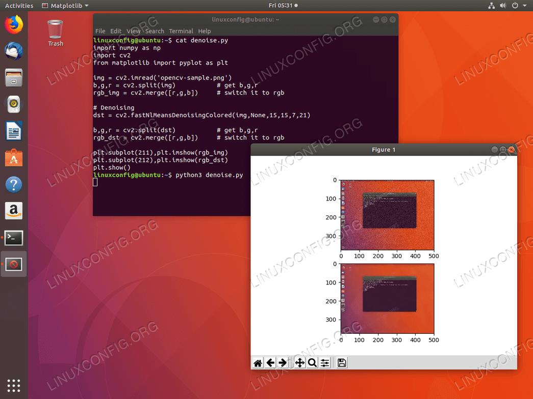 Python OpenCV on Ubuntu 18.04