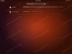 Google Drive Ubuntu 18.04 - Launch Online Accounts