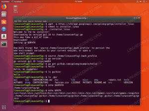 Install Go on ubuntu using golang installer
