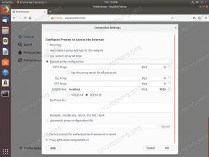 Configure Firefox with Tor - Ubuntu 18.04